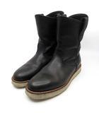B&Y ユナイテッドアローズ BEAUTY&YOUTH ビューティー&ユース オーセンティックブーツ authentic boots レザー ブーツ ブラック 黒 27cm