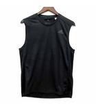 アディダス adidas RESPONSE スリーブレス Tシャツ ワンポイント CLIMACOOL ランニング ブラック 黒 S 美品 CE7283