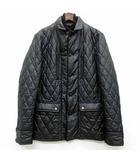 タケオキクチ TAKEO KIKUCHI キルティング ジャケット 中綿 ジップアップ ブラック 黒 3 美品