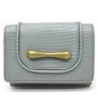 トフ&ロードストーン TOFF&LOADSTONE デリスリザード 三つ折り コンパクトウォレット 財布 コインケース アイスグレー LA-323