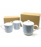 アフタヌーンティー Afternoon Tea まとめ売り 小花柄 ティーカップ マグカップ 2客 ティーポット 陶磁器