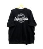 ピンコ PINKO UNIQUENESS オーバーサイズ Tシャツ プリント 半袖 PYRUS T-SHIRT JERSEY COTONE ブラック 黒 S