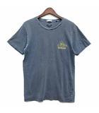 ティーシーエスエス TCSS Tシャツ カットソー 半袖 クルーネック 後染め 両面プリント グレー M