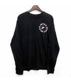ナイキ NIKE NSW JDI 1 JUST DO IT Tシャツ カットソー 長袖 クルーネック ロンT DA0333-010 ブラック 黒 L 美品
