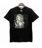 ヒステリックグラマー HYSTERIC GLAMOUR コートニーラブ Courtney Love Tシャツ カットソー 半袖 クルーネック ブラック 黒 S