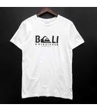 クイックシルバー QUIKSILVER Tシャツ カットソー 半袖 クルーネック プリント ホワイト 白 XS