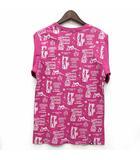 ヒステリックグラマー HYSTERIC GLAMOUR デビル プリント Tシャツ カットソー 半袖 クルーネック ピンク S