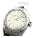 ロレックス ROLEX オイスターパーペチュアル 自動巻き 腕時計 67180 シルバー U番