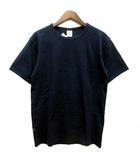 アヴィレックス AVIREX デイリー Tシャツ カットソー 半袖 クルーネック ストレッチ 抗菌防臭 6143502 ネイビー 紺 XL