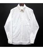 アナクロノーム anachronorm オックスフォード ボタンダウン シャツ 長袖 ホワイト 白 1