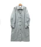 サマンサモスモス SM2 blue ステンカラー ロング コート グレー F