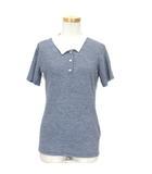 エターナル ETERNAL DEEP BLUE クレリック 2カラー ポロシャツ 半袖 ラミー  ネイビー系 ※RT190420