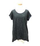 セポ CEPO Tシャツ カットソー 杢柄 半袖 胸ポケット チャコール グレー系 M ※HM190418