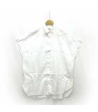 トラディショナルウェザーウェア Traditional Weatherwear シャツ ブラウス カットソー フレンチスリーブ 半袖 白 S ※RH190419