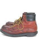レッドウィング REDWING ワークブーツ 204 スーパーソール 6インチ モックトゥ 羽タグ 8D 靴 ※RT190413
