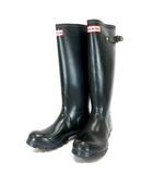ハンター HUNTER レインブーツ 長靴 雨靴 TALL CLASSIC ロング ラバー ネイビー UK4 W23177 ※MH190409