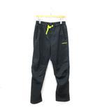 アディダスネオ adidas neo マテリアルミックス パンツ ロング イージー スポーツウエア 黒 系 黄色 M ※ET190418