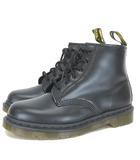 ドクターマーチン DR.MARTENS CORE 101 ショートブーツ 10064001 LACE LOW BOOT 6 EYE BOOT 6ホール ブーツ スムースレザー 27cm UK8 黒 ブラック 靴 ※RT190413