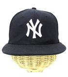 ニューエラ NEW ERA Youth 9FIFTY NY ニューヨークヤンキース キッズ キャップ ストレート 帽子 ネイビー ※AI 190516