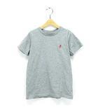 グラミチ GRAMICCI Tシャツ プルオーバー カットソー キッズ ワンポイント グレー 150 GKT-19S207 ※AI 190516