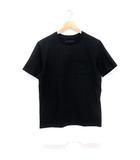 ナンバーナイン NUMBER (N)INE 裾レイヤードTシャツ 半袖 切替 バイカラー クルーネック 黒 M ※HM190521