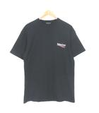 バレンシアガ BALENCIAGA 2018SS Tシャツ Campaign Logo T-Shirt キャンペーンロゴ 半袖 黒 ブラック XS ※RT190521