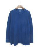 ブルーブルー BLUE BLUE Tシャツ 長袖 インディゴ L 190131