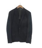 ルイヴィトン LOUIS VUITTON テーラードジャケット 2B 切替 背抜き 50 ネイビー 190417 IBS19