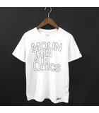 ザノースフェイス THE NORTH FACE Tシャツ 半袖 プリント OUTLINE MA LOGO TEE 白 ホワイト M 190414