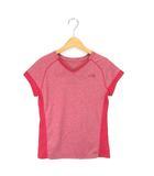 ザノースフェイス THE NORTH FACE ランニングシャツ Vネック 半袖 ピンク M 190414