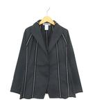 イッセイミヤケ ISSEY MIYAKE ジャケット 3 黒 ブラック 190417 IBS19