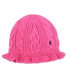 ラルフローレン RALPH LAUREN ニットキャップ 帽子 ピンク 190424 IBS19