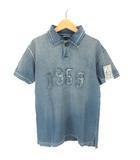 キャピタル kapital KOUNTRY ポロシャツ 半袖 2 インディゴ 190608