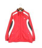 YONEX ヨネックス ジャケット HEAT CAPSULE ジップアップ トレーニング レッド系 赤系 L 190918E