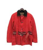 キャピタル kapital ジャケット オイルコーティング ベルト M レッド 赤 190927O