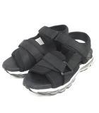 ネーム Name. × tom&co スポーツ サンダル スポサン AIR SOLE SANDAL NMAC-18SS-10 26cm ブラック 黒 靴 191002E