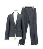 アンタイトル UNTITLED セットアップ スーツ テーラードジャケット パンツ ウール混 3 グレー 191106O