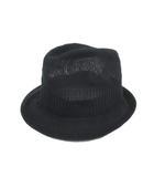 イサムカタヤマバックラッシュ ISAMU KATAYAMA BACKLASH ソフト帽 中折れ帽 メッシュハット キャップ ブラック 3 191110T