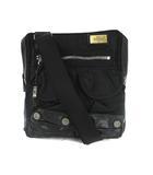 ディーゼル DIESEL ショルダーバッグ ナイロン レザー 黒 ブラック 鞄 200125Y
