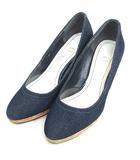 ダイアナ DIANA artemis by DIANA パンプス デニム 22cm インディゴ 靴 200203E