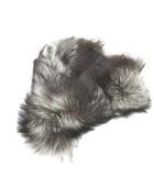 サガフォックス SAGA FOX ファー ティペット ストール 首巻き シルバーフォックス 毛皮 ナチュラル ブラウン IBS42 200125T