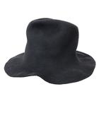 レナードプランク REINHARD PLANK HAT LAPIN SOFT ハット 中折れ 帽子 黒 ブラック 200315Y