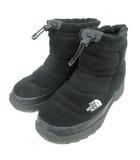 ザノースフェイス THE NORTH FACE NF51787 ヌプシ ブーティー ウール Nuptse Bootie Wool III Short ブーツ アウトドア 28.0 黒 ブラック 靴 ☆AA★