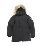 カナダグース CANADA GOOSE ジャスパー JASPER PARKA ダウンジャケット コート コヨーテファー M/M ブラック 3438JM 200406T