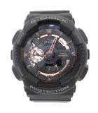 カシオジーショック CASIO G-SHOCK GA-110RG-1AJF 腕時計 Rose Gold Series ローズゴールドシリーズ アナデジ ブラック