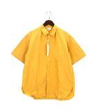 ホワイトライン WHITE LINE WLS-3605 シャツ 半袖 44 イエロー 201029E