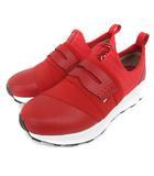 ウノピュウノウグァーレトレ リラックス 1PIU1UGUALE3 RELAX レイヤード ゴア スニーカー レッド 26cm 201201E 靴