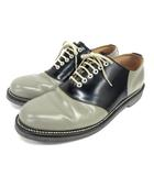 リーガル REGAL 2051BAEB サドルシューズ サドルオックスフォード 靴  26.5cm グレー ブラック 210122O