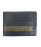 バリー BALLY レザー カードケース ネイビー 210302EE IBS94