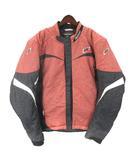 HYODO 中綿 ジャケット バイクウェア チャコールグレー レッド系 LL 210323E アウター